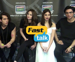 Fast Talking with Pasion de Amor's sexiest tandems Jake-Arci, Ejay-Ellen and Joseph-Coleen
